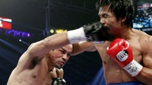 Pacquiao knocked out against Marquez but fight number five may be on cards - video